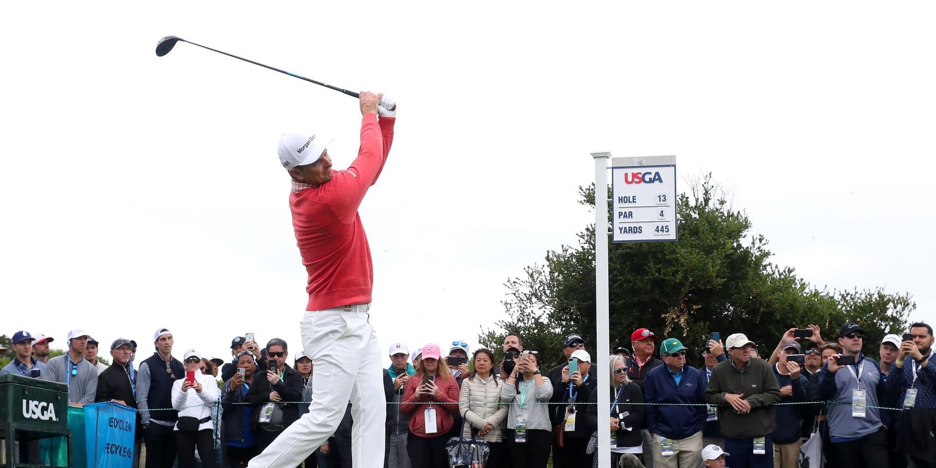 Golf US Open : Justin Rose en tête, Thomas Pieters déçoit
