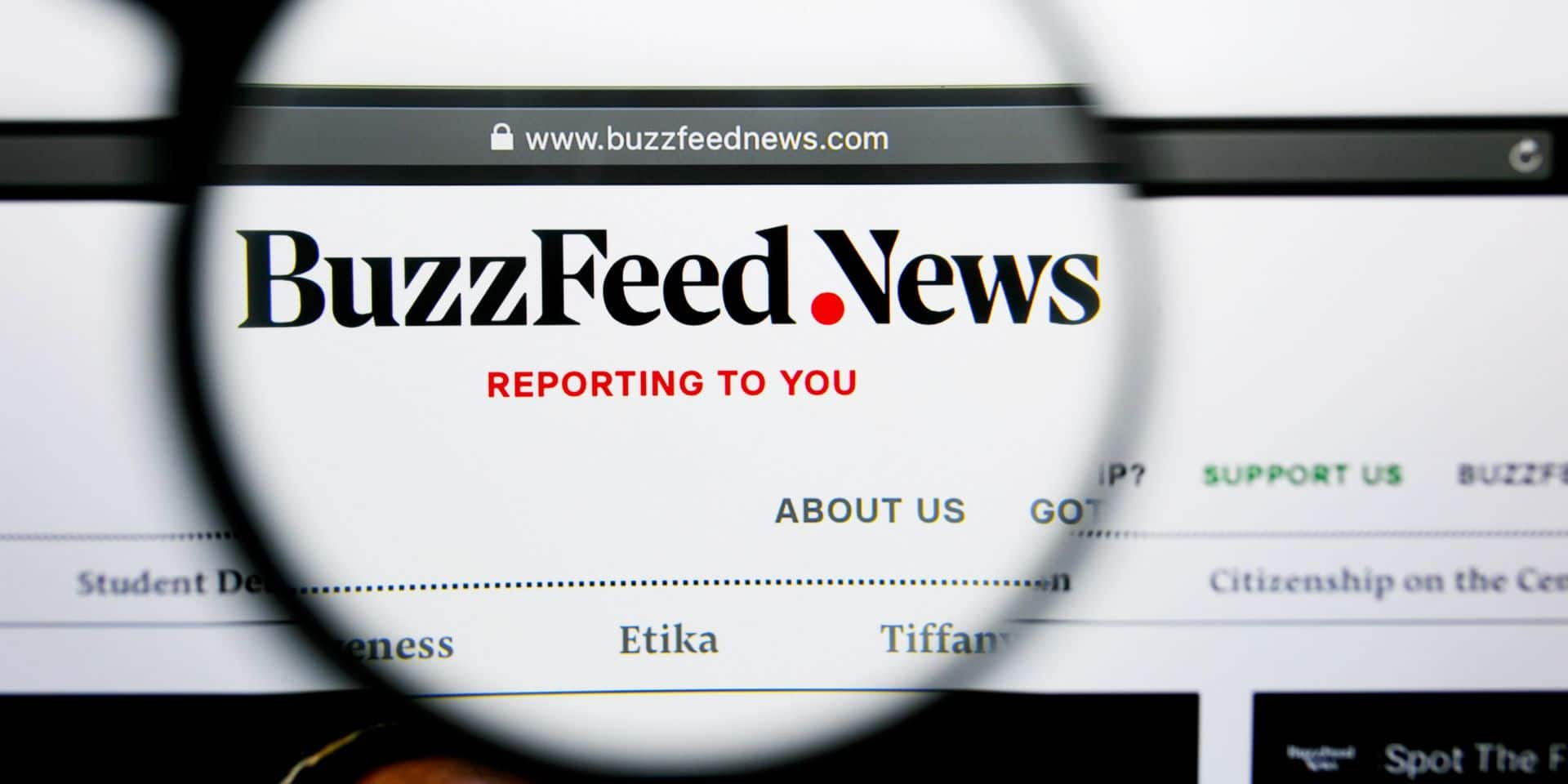 Le site d'information BuzzFeed acquiert son concurrent HuffPost
