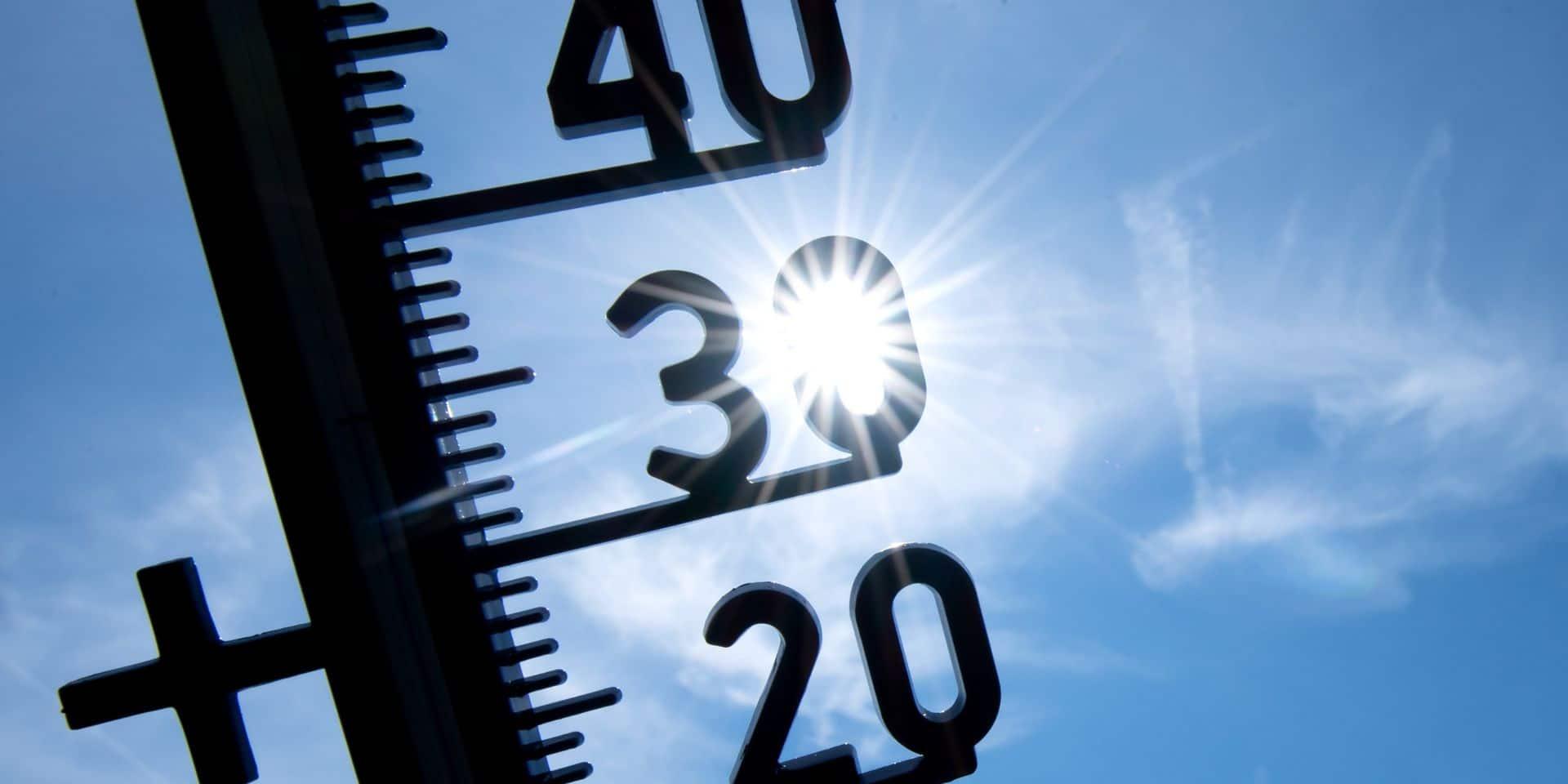 35,9 degrés enregistrés à Uccle: le record de température pour le mois d'août a été battu