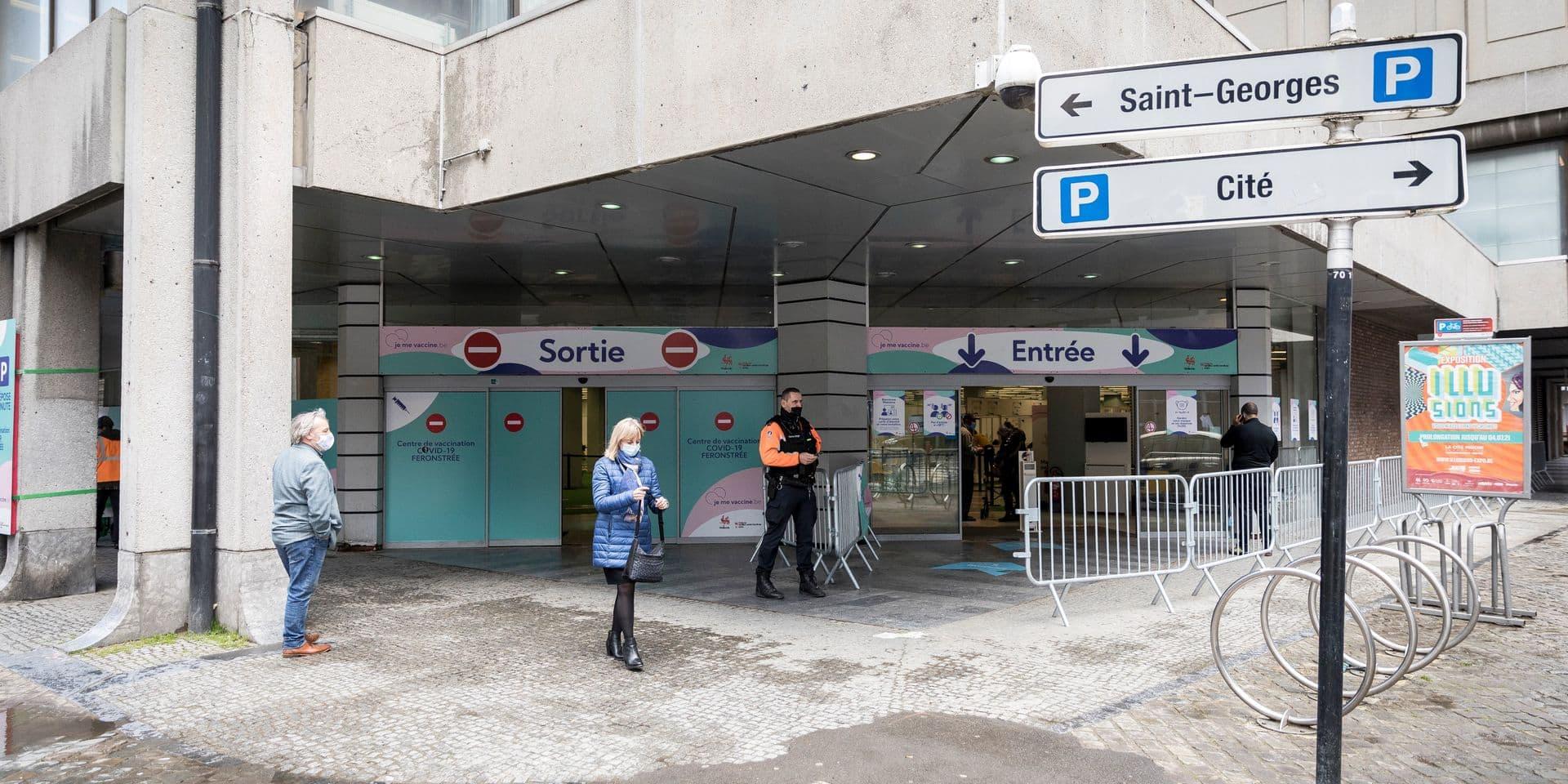 Vaccination : Liège passe à la vitesse supérieure