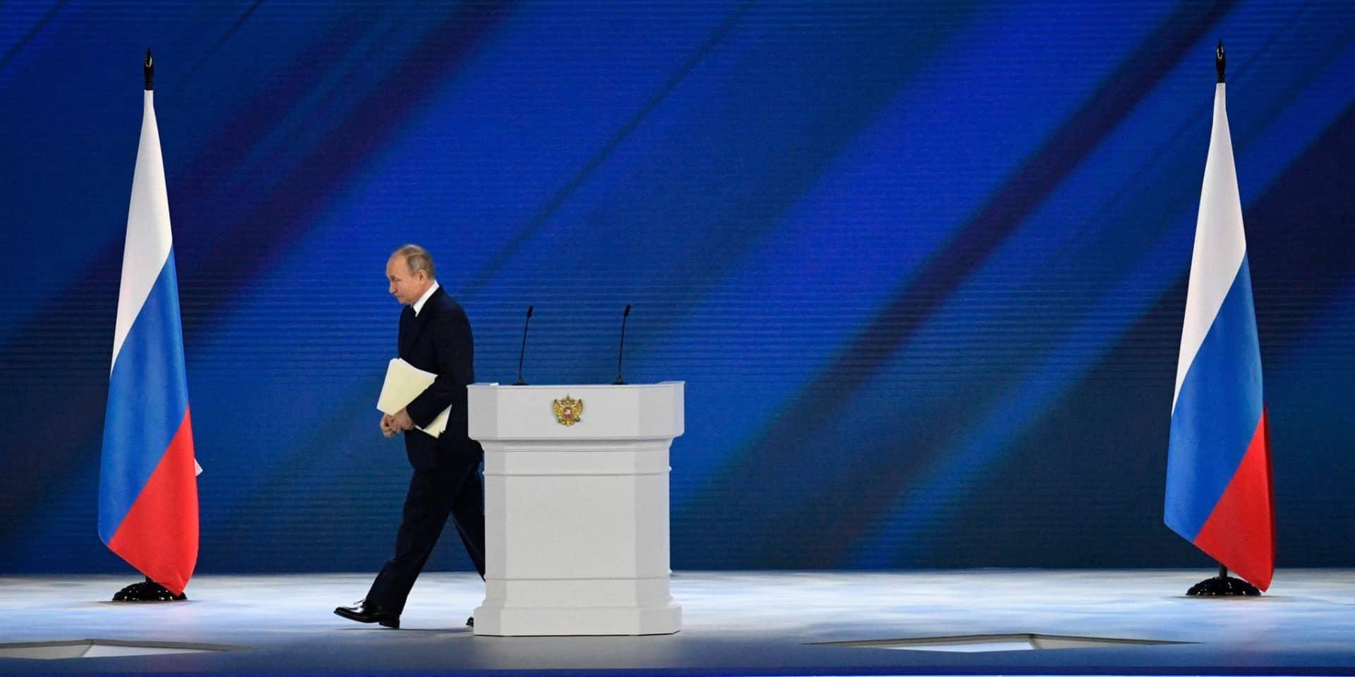 """Poutine dénonce le silence occidental sur une tentative de """"coup d'Etat"""" au Bélarus"""