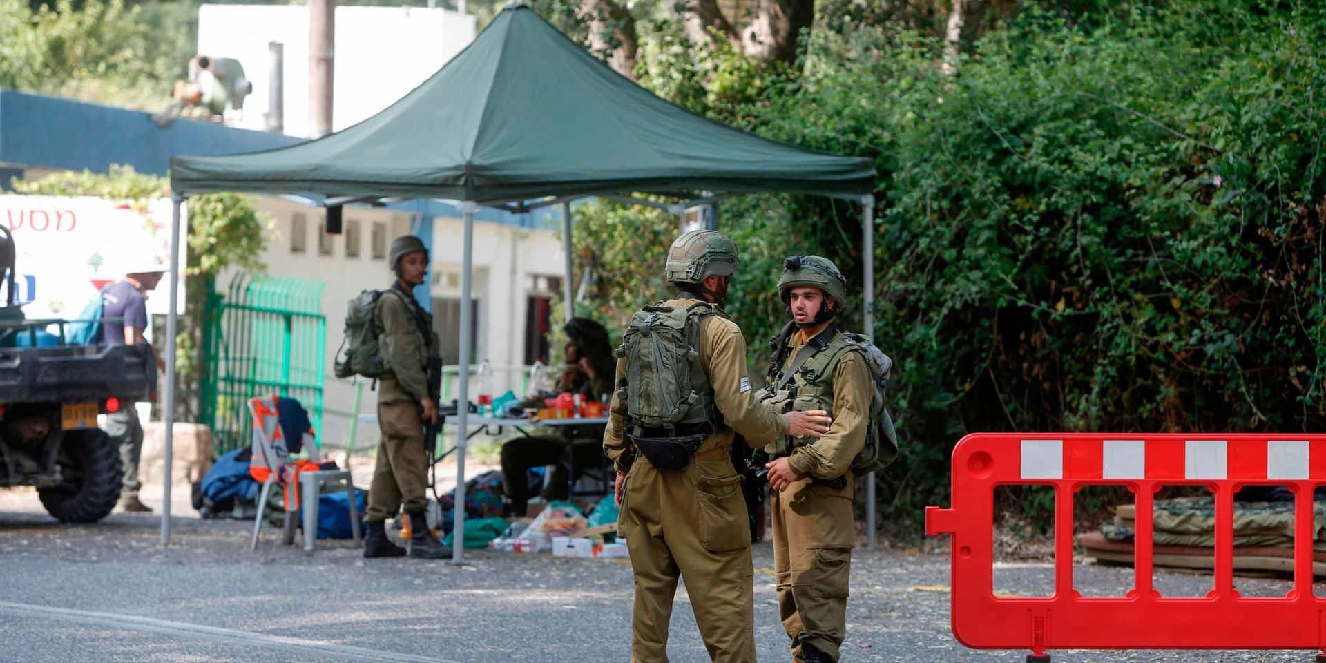 """Israël dit avoir déjoué une attaque """"terroriste"""" à la frontière nord"""