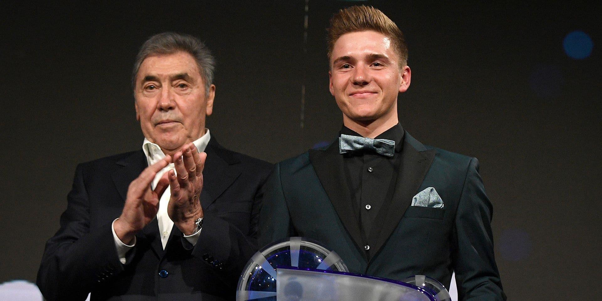 """Eddy Merckx donne peu de chance à Evenepoel sur le Giro: """"Jouer la victoire me semble compliqué"""""""