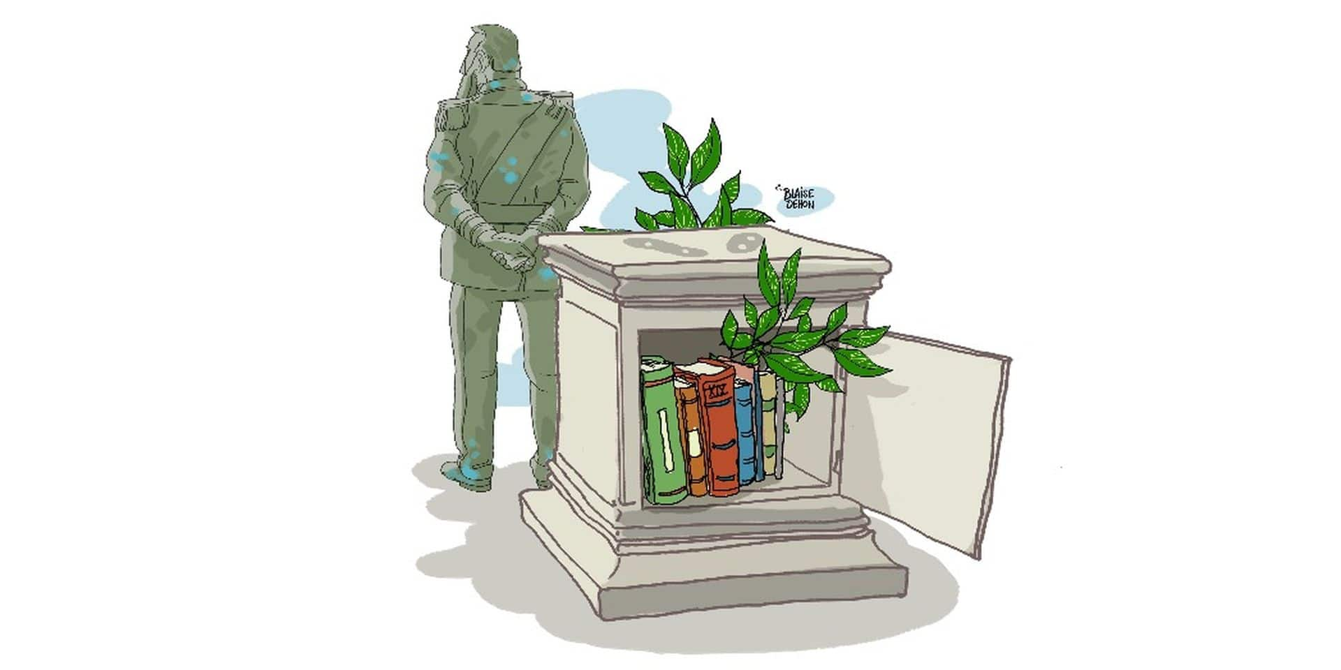 Les monuments brandissent la mémoire des peuples