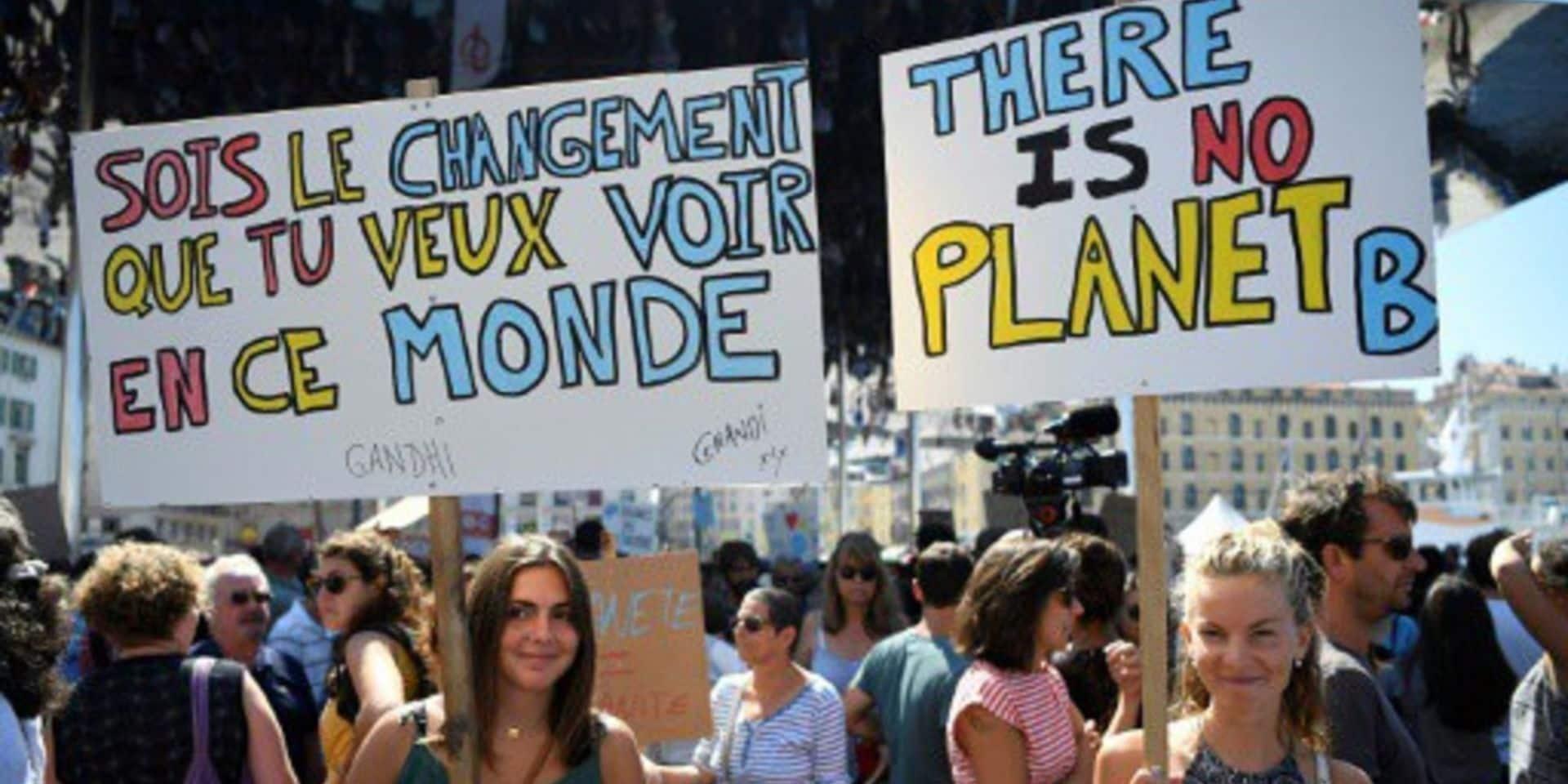 Entre 20.000 et 25.000 personnes attendues à Bruxelles pour la marche pour le climat
