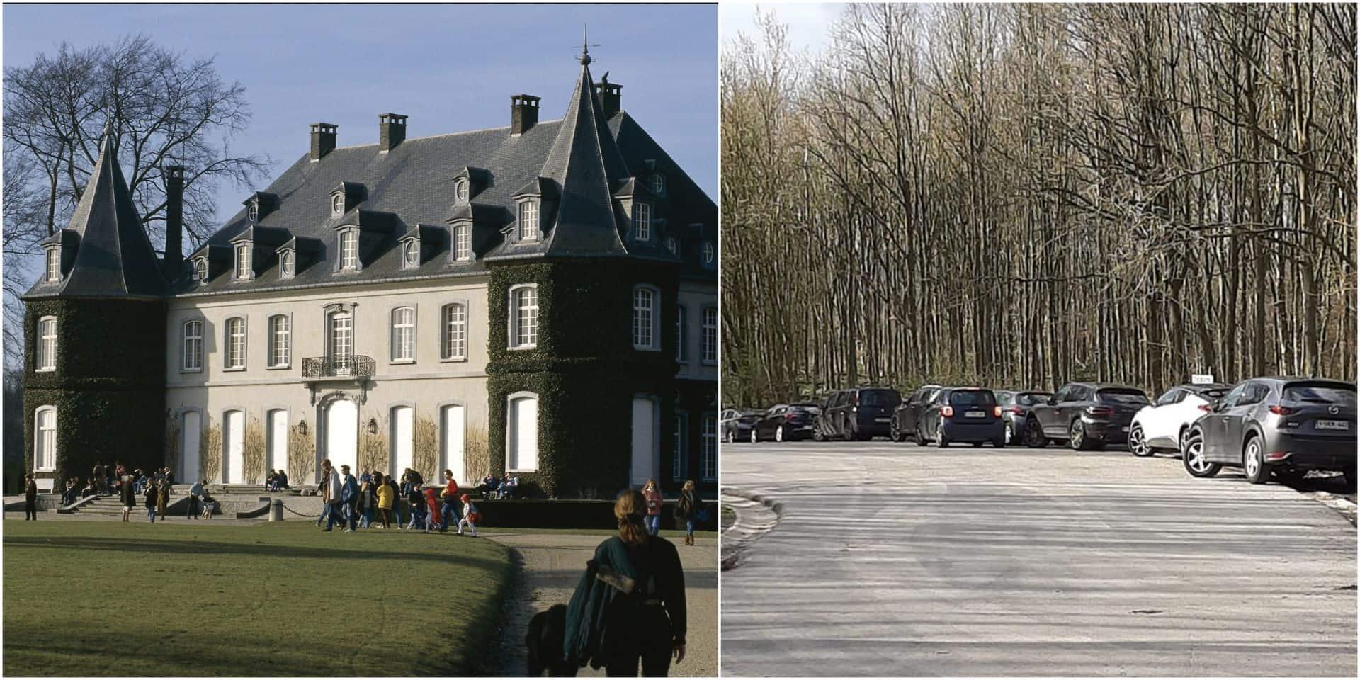 """Le Château de la Hulpe envahi """"par des centaines de Bruxellois abrutis"""", la commune fait fermer le site"""