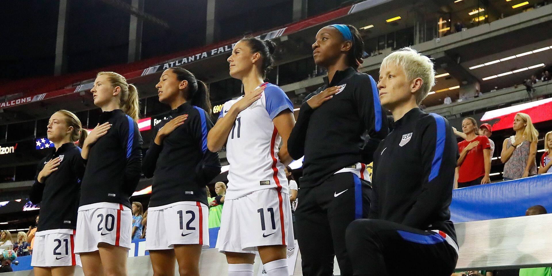 Officiel: la Fédération américaine abroge l'interdiction de s'agenouiller pendant l'hymne