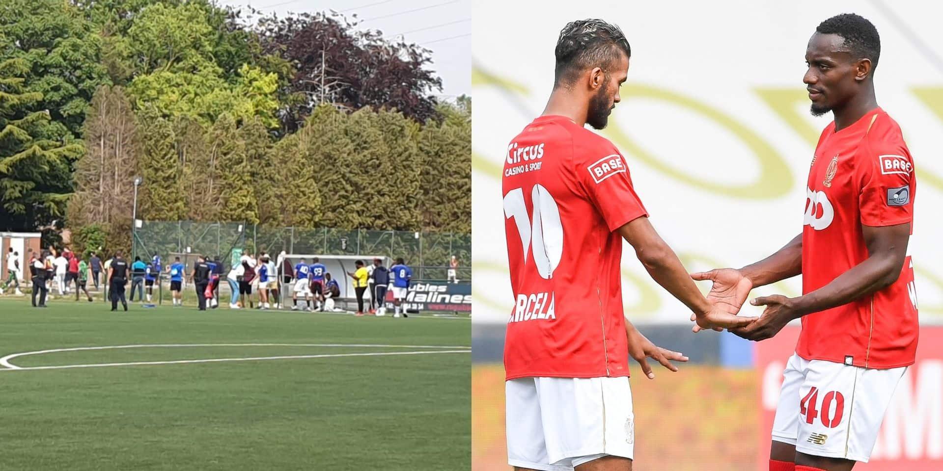 Match de foot clandestin à Visé avec Mpoku, Carcela et Edmilson: il n'y aura pas de poursuite