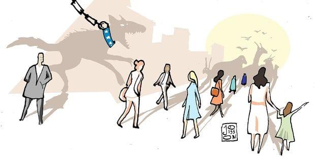 Avec le mouvement MeToo, les femmes sont des citoyennes et non plus des proies ! - La Libre