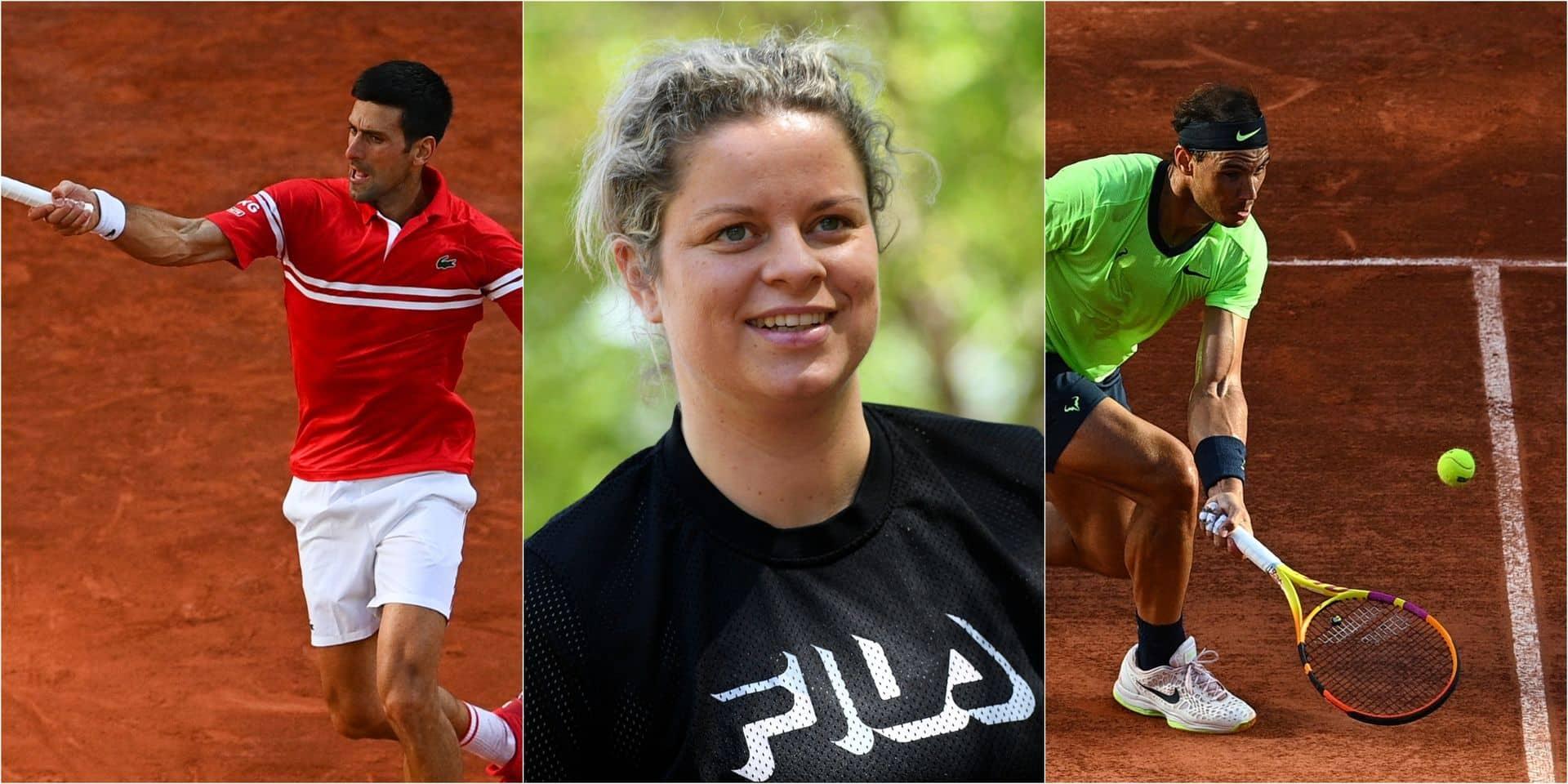 Autorisation parentale et pop-corn : le duel Rafa-Djoko, c'est mieux avec les commentaires de Kim Clijsters