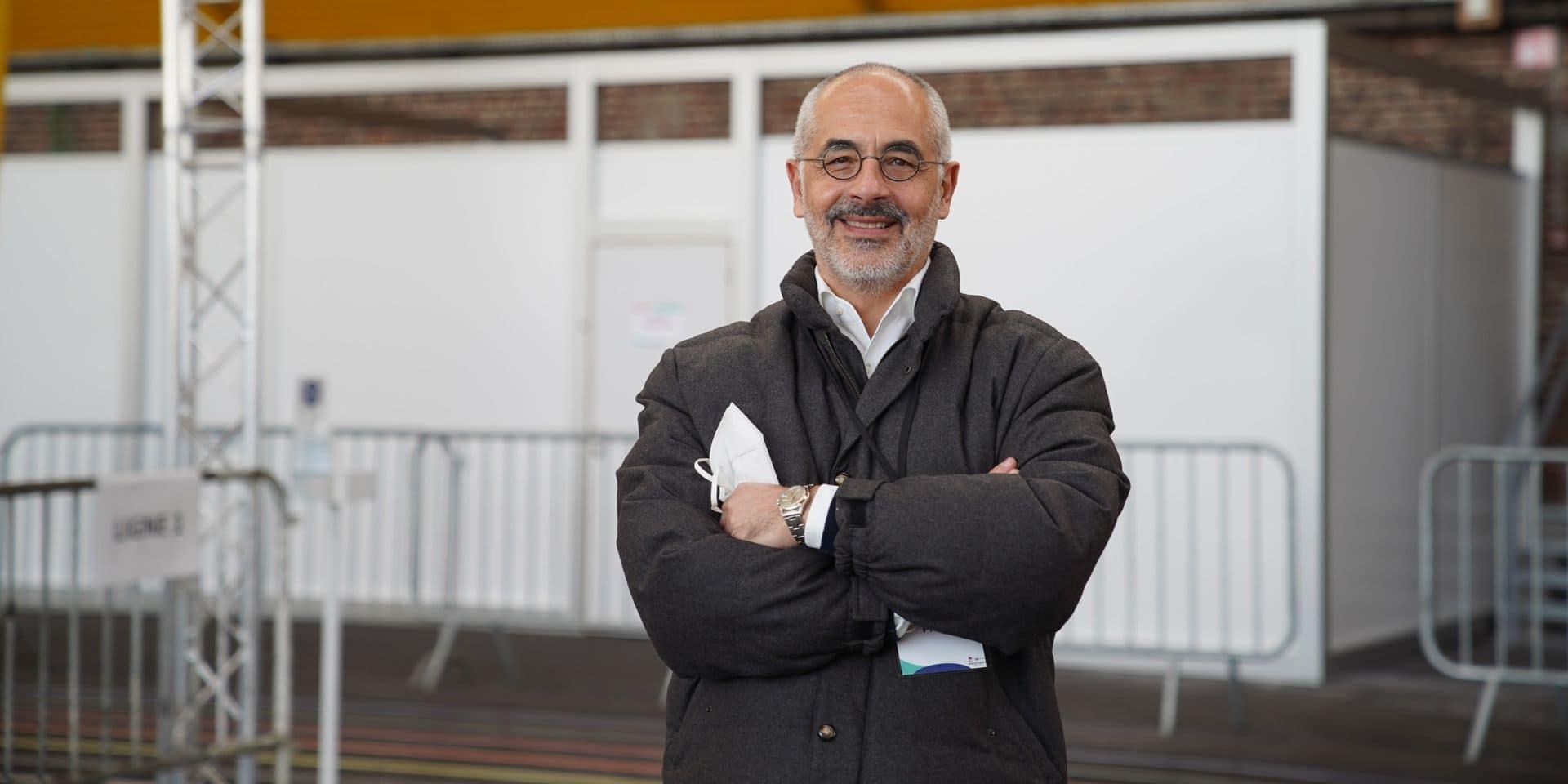 """La société événementielle de Rixensart, ProFirst, a aménagé les cinq centres de vaccination du Brabant wallon: """"Heureux de participer à la solution"""""""