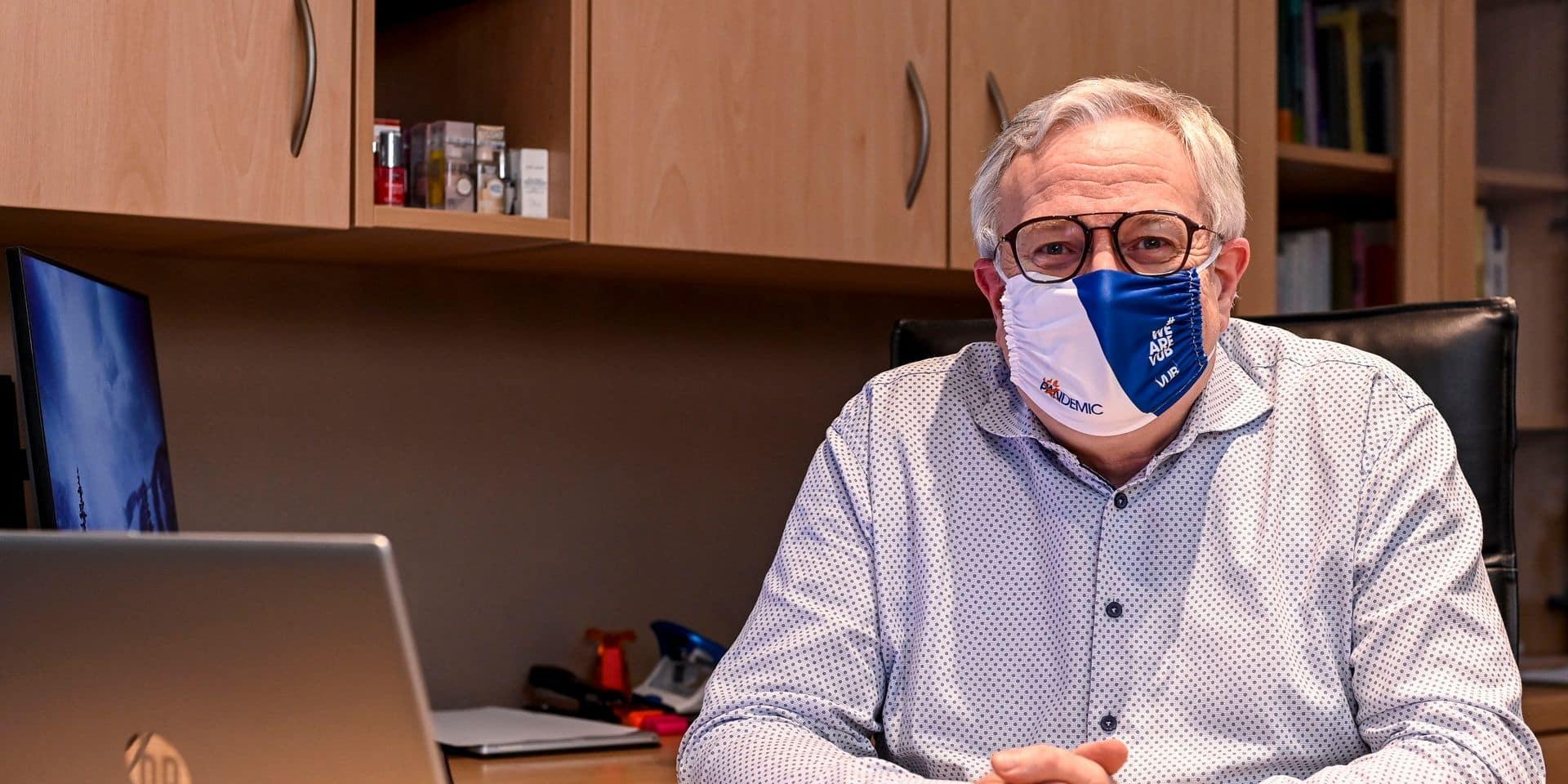 """Un docteur de la VUB pousse un coup de gueule: """"Plus de la moitié des gens ne viennent pas se faire vacciner"""""""