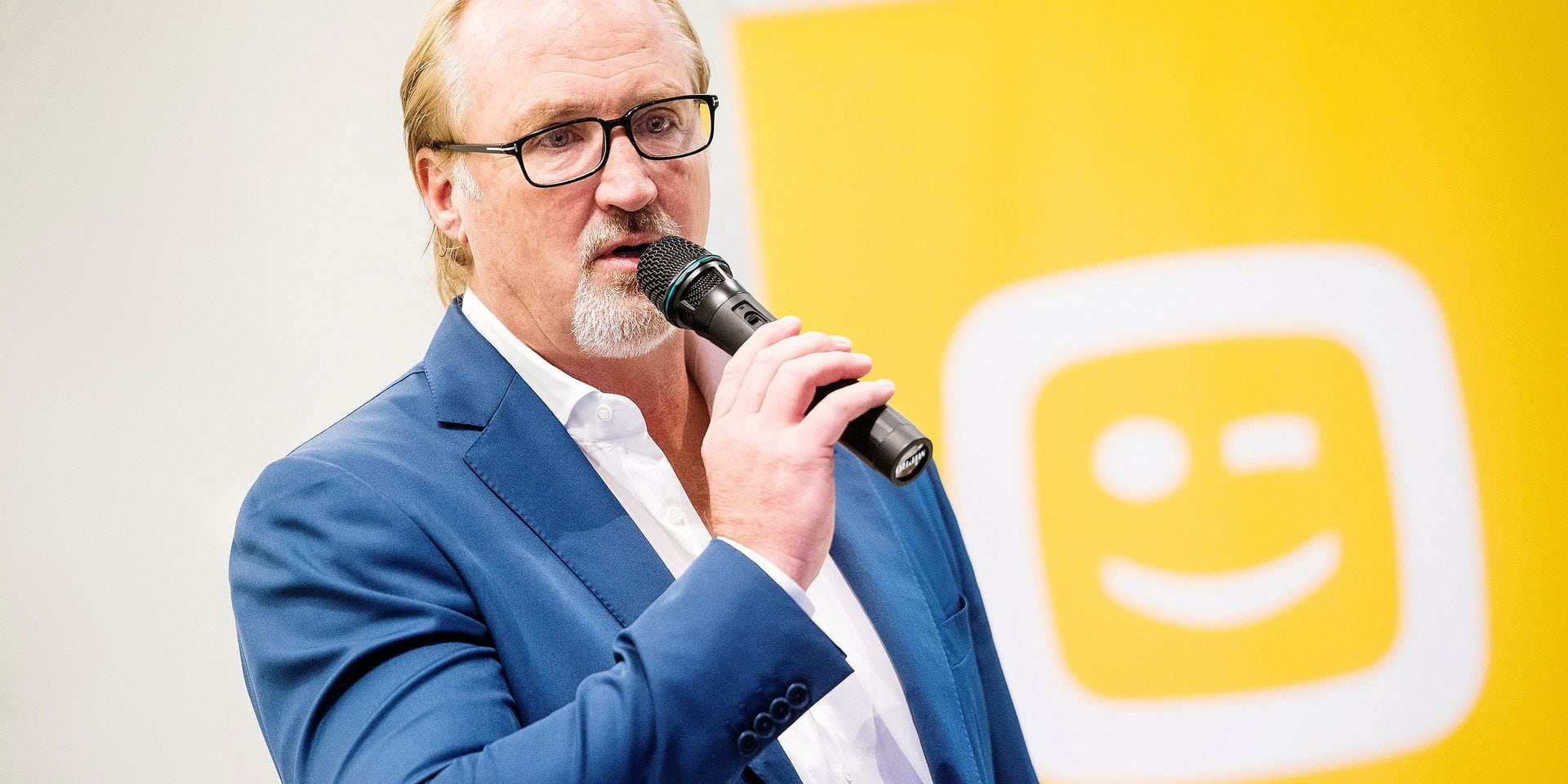 Telenet CEO John Porter pictured during the opening of the Telenet Innovation Centre in Sint-Lambrechts-Woluwe/ Woluwe-Saint-Lambert, Brussels, Thursday 05 October 2017. BELGA PHOTO LAURIE DIEFFEMBACQ