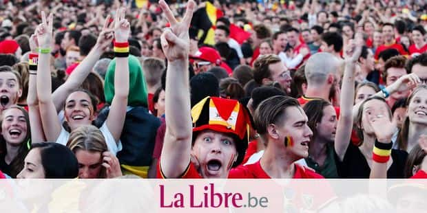 Woluwe st Pierre Stockel ambiance foot mondial 2018 supporter diables rouges