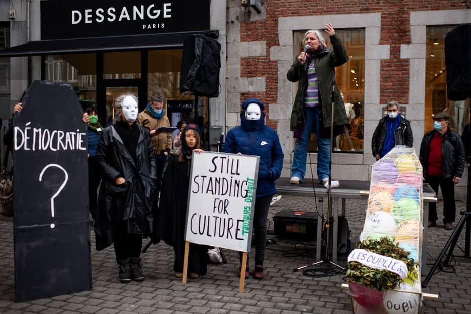 #StillStandingForCulture à Namur le samedi 13 mars 2021