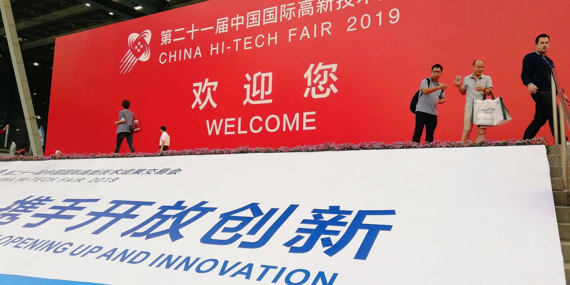 """La Wallonie mise sur Shenzhen, capitale chinoise de la """"tech"""""""