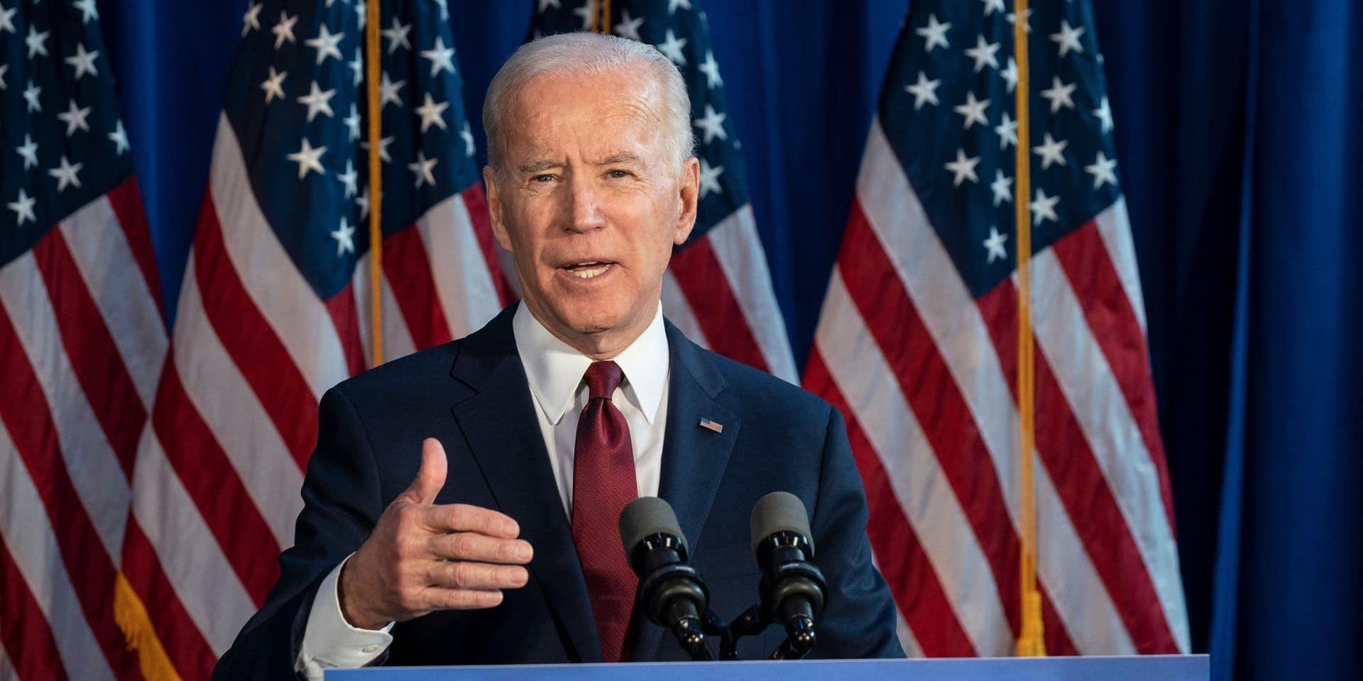 """""""Il est temps de tourner la page"""": Joe Biden salue la victoire probable des démocrates en Géorgie"""