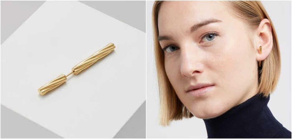 Boucle d'oreille unique modèle Arsiia de Maria Black, 94.95€ sur                                                             zalando