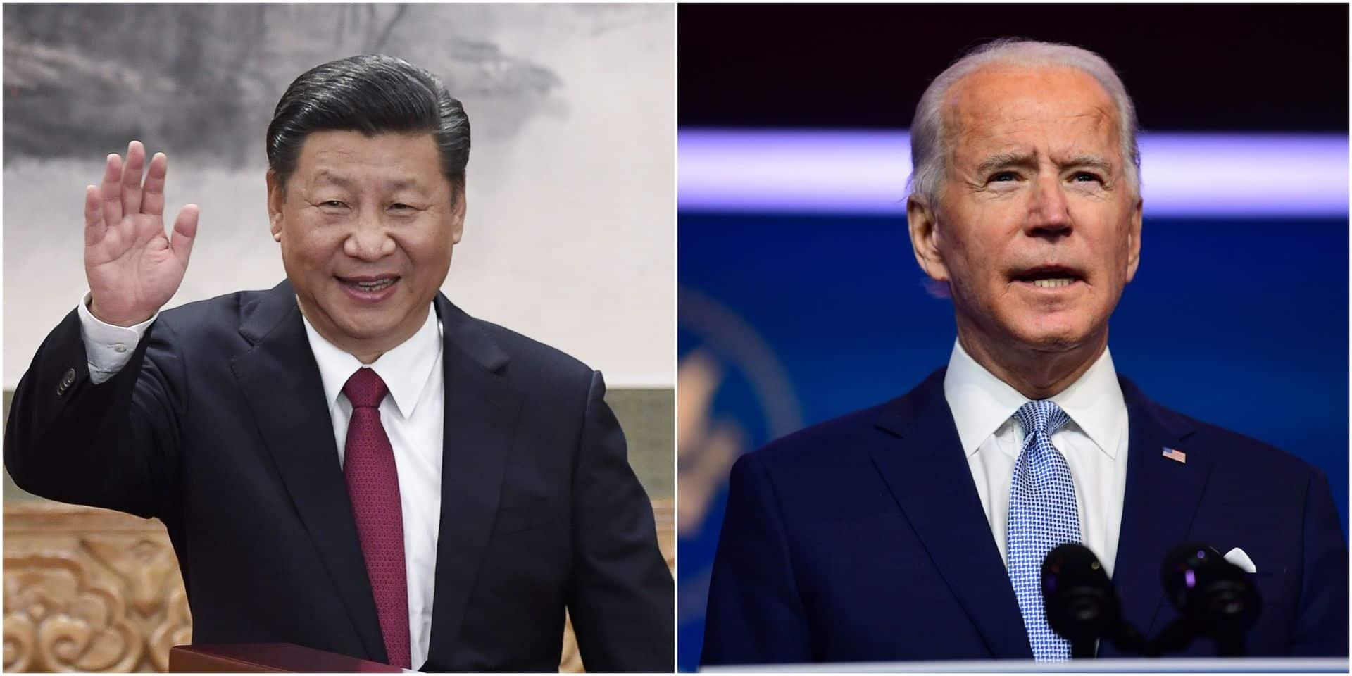 Après trois semaines de silence, le président chinois Xi Jinping félicite Joe Biden pour sa victoire à la présidentielle