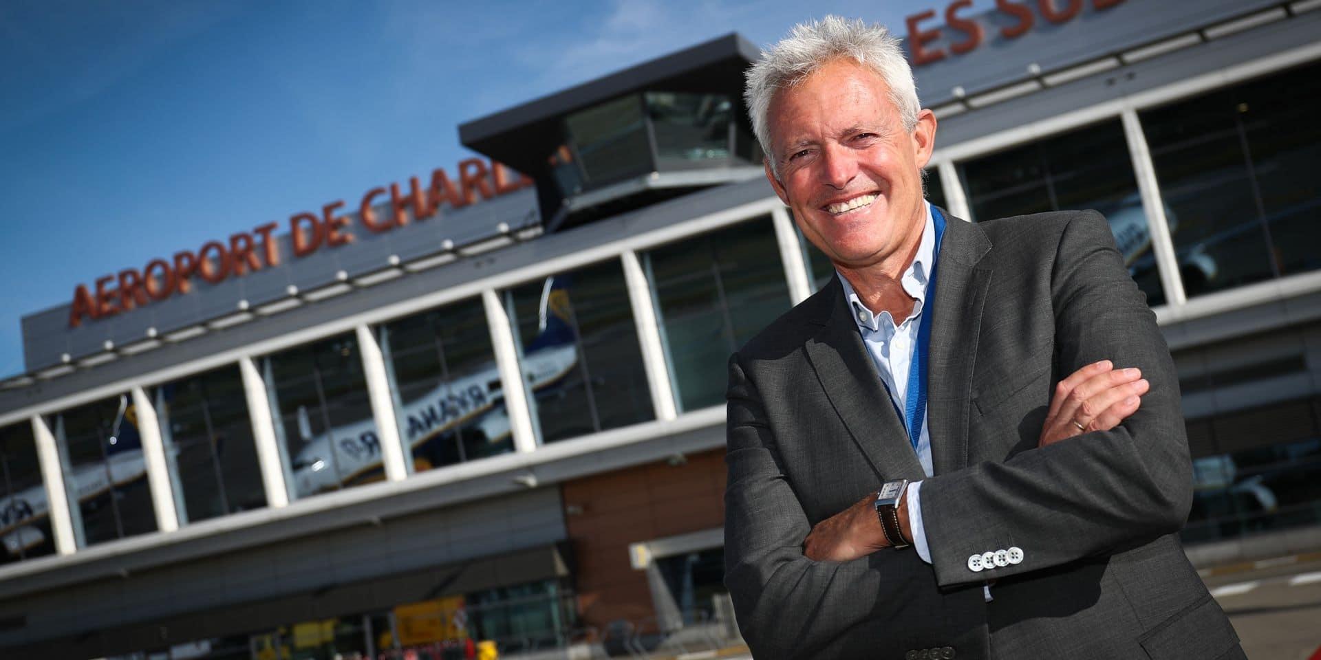 """Philippe Verdonck, CEO de l'aéroport de Charleroi: """"On va droit dans le mur"""""""