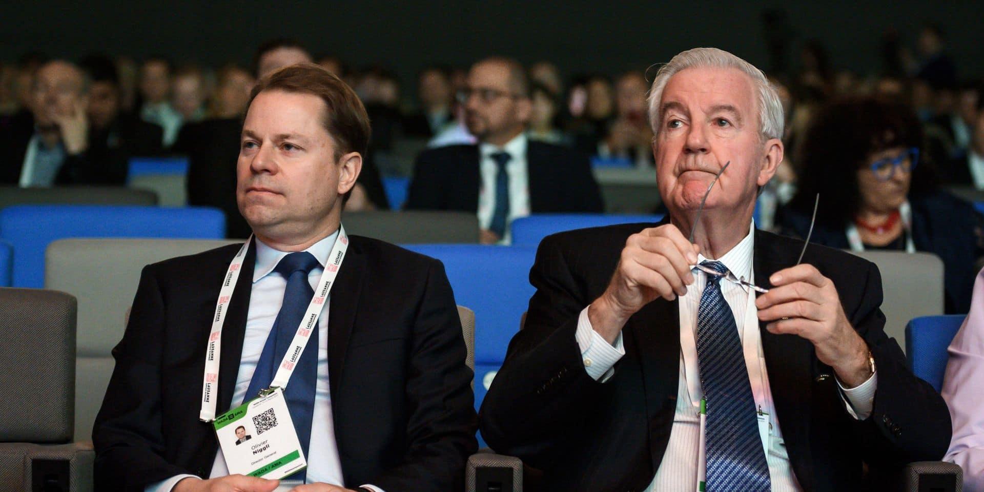 L'Agence mondiale antidopage a reçu des réponses de la Russie
