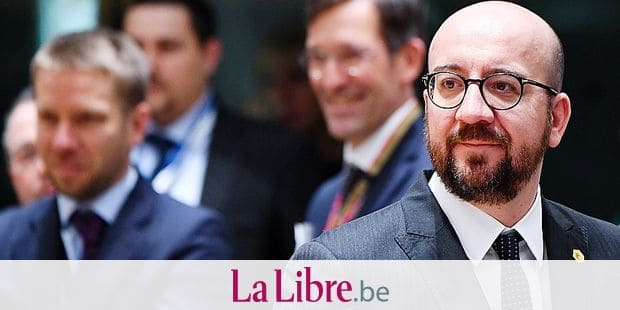 Belgian Prime Minister Charles Michel pictured during the second day of an EU summit meeting, Friday 23 March 2018, at the European Union headquarters in Brussels. BELGA PHOTO POOL FREDERIC SIERAKOWSKI