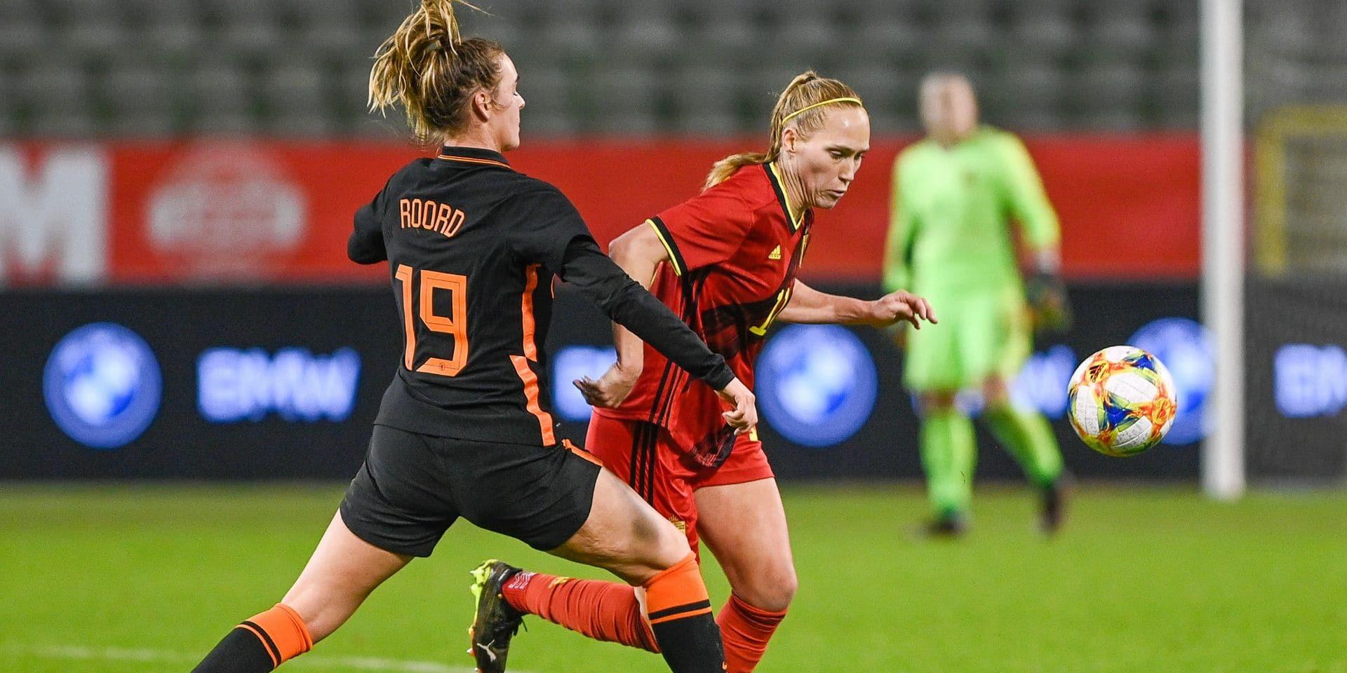 """Lourde défaite des Red Flames face aux Pays-Bas: """"On est retombé les pieds sur terre"""", confie Janice Cayman"""