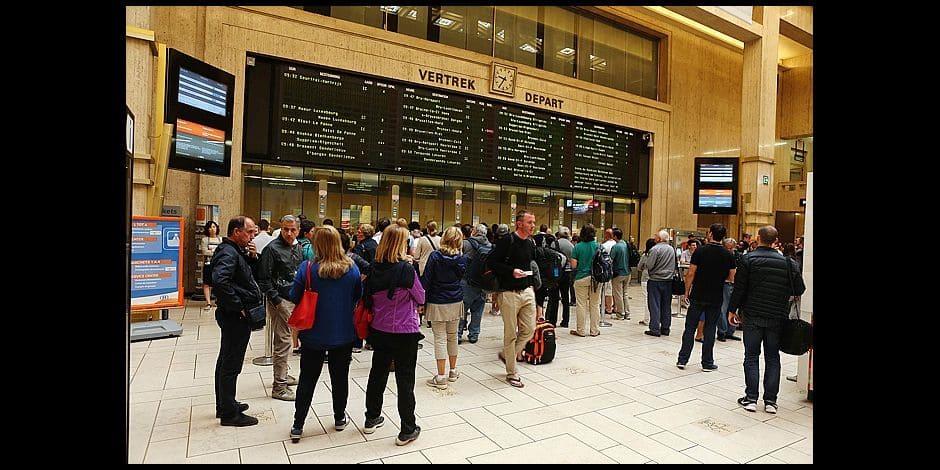 Photos Bernard Demoulin: Gare centrale ce samedi 18 Juillet