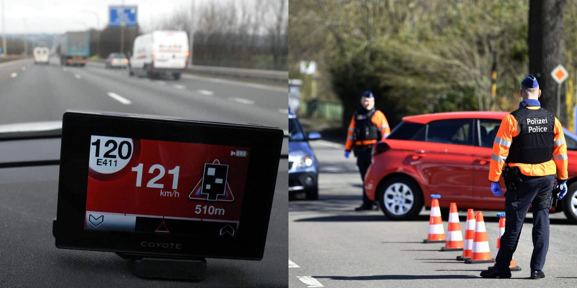 Signaler les contrôles de police sera bientôt interdit en France: quid en Belgique?