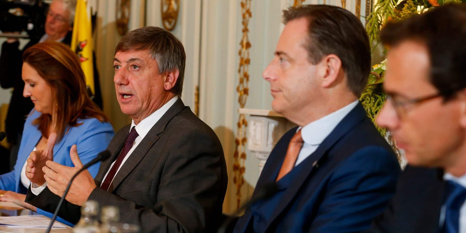 Des poids lourds au casting du nouveau gouvernement flamand