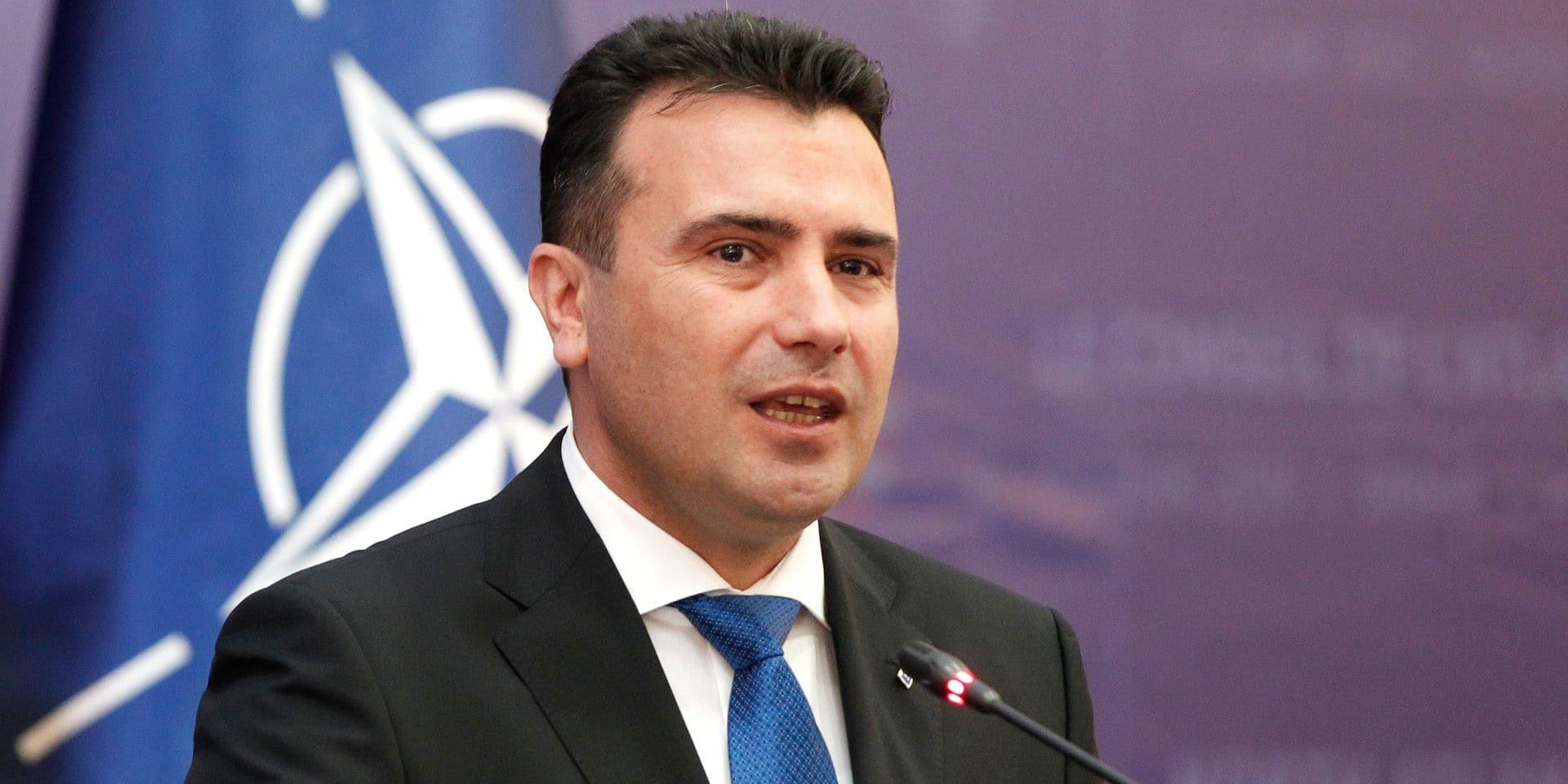 Le Premier ministre macédonien s'excuse d'avoir prononcé une insulte homophobe