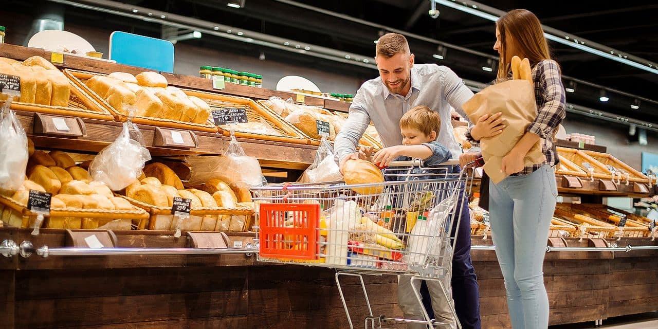 Le pain, argument marketing de la grande distribution.