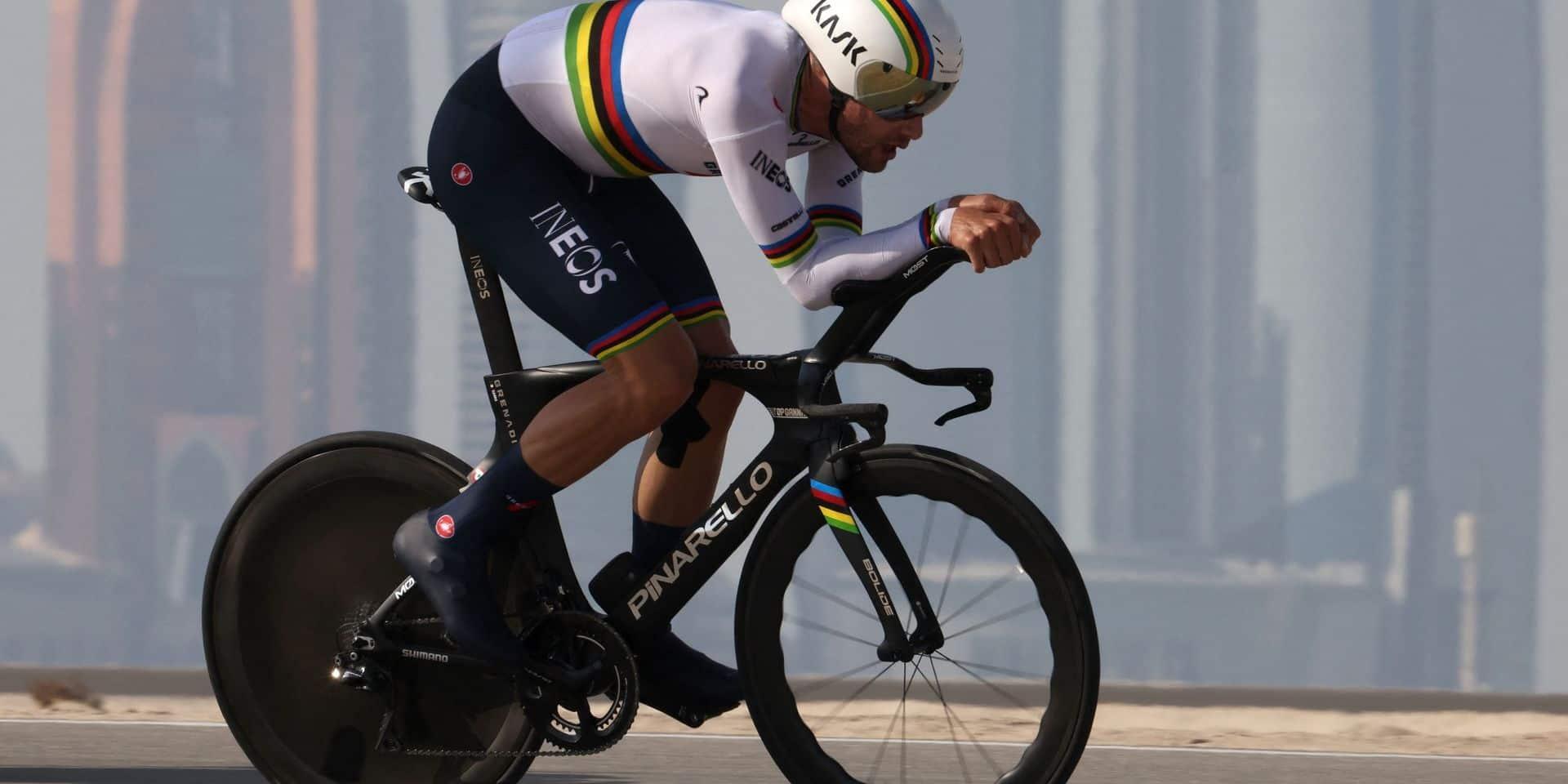 Tour des Emirats arabes unis: Filippo Ganna remporte la 2e étape, Tadej Pogacar prend la tête du général