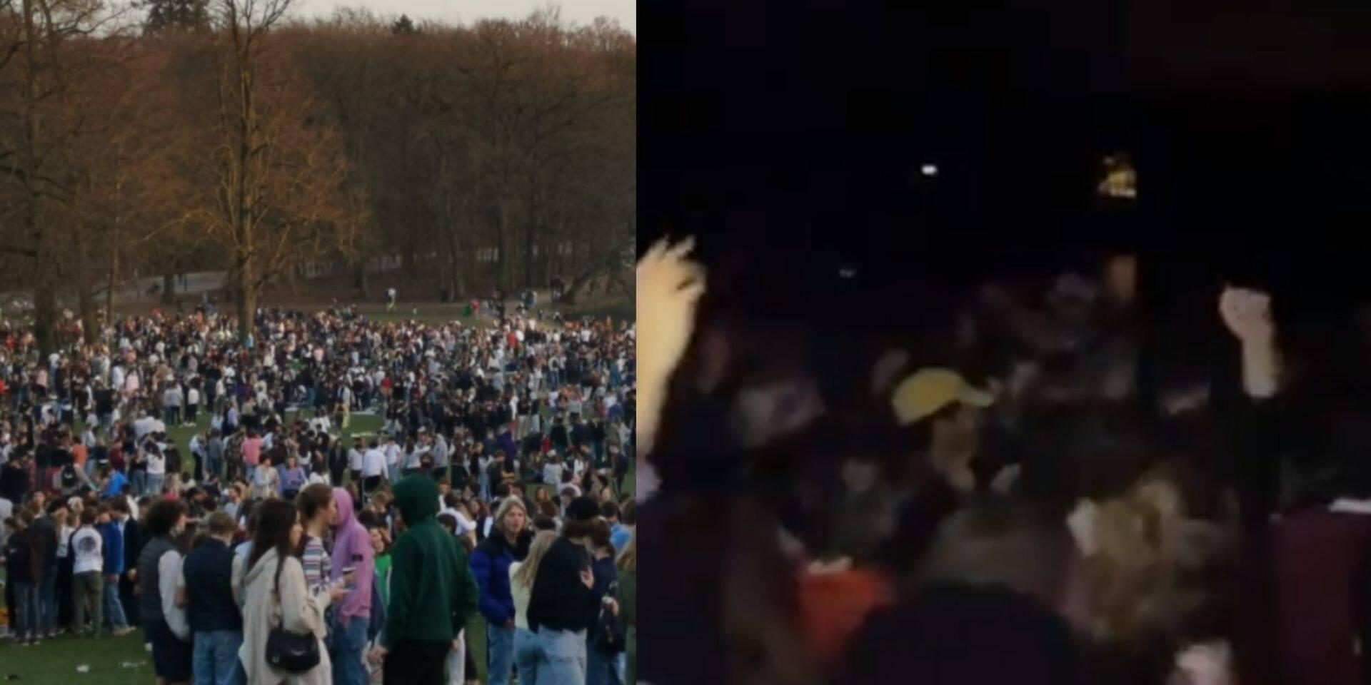 Environ 2.000 personnes rassemblées ce mercredi au Bois de la Cambre: Philippe Close réagit et va serrer la vis