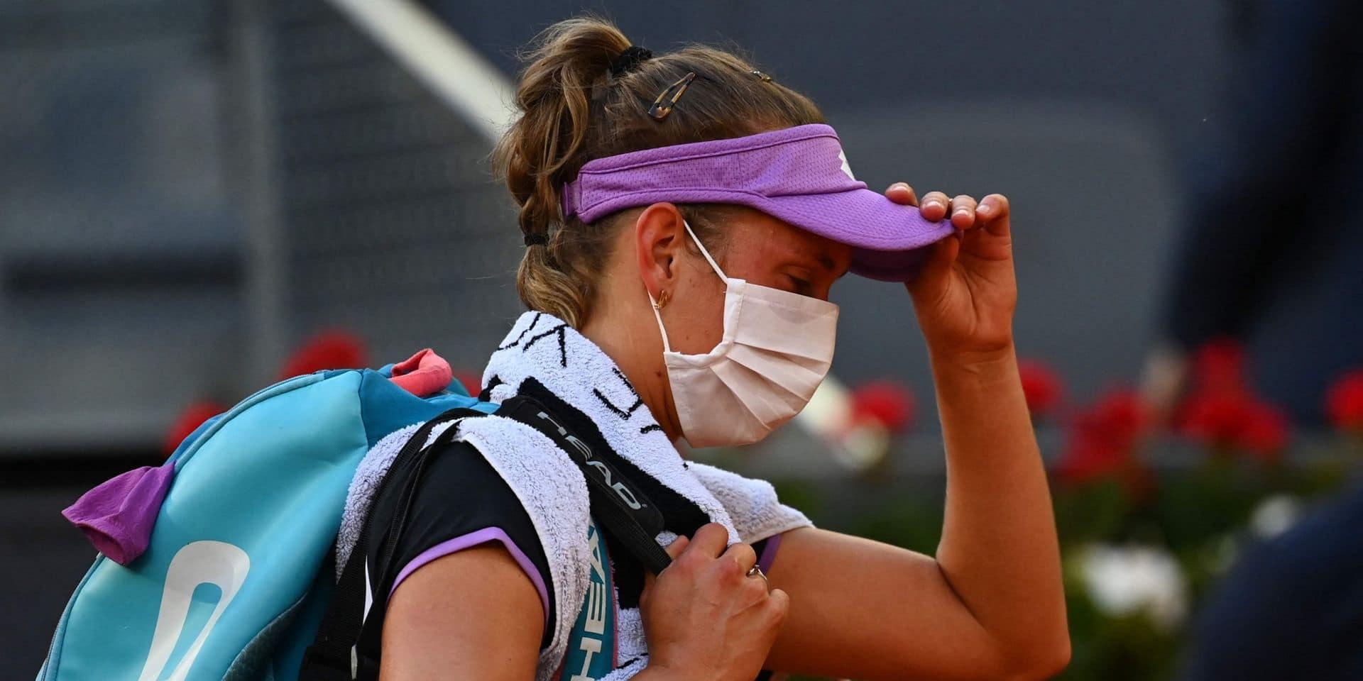 WTA Rome: Elise Mertens battue pour son premier match en tant que N.1 mondiale du double