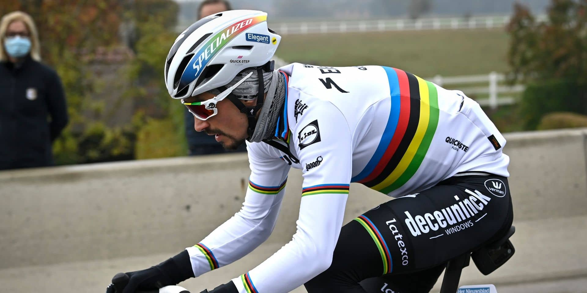 """Après son titre Mondial, Julian Alaphilippe rêve désormais du Tour de France: """"Si je devais n'en gagner qu'une seule..."""""""
