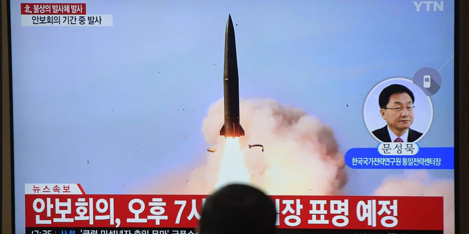 La Corée du Nord tire deux missiles quelques heures après l'arrivée de l'émissaire américain à Séoul