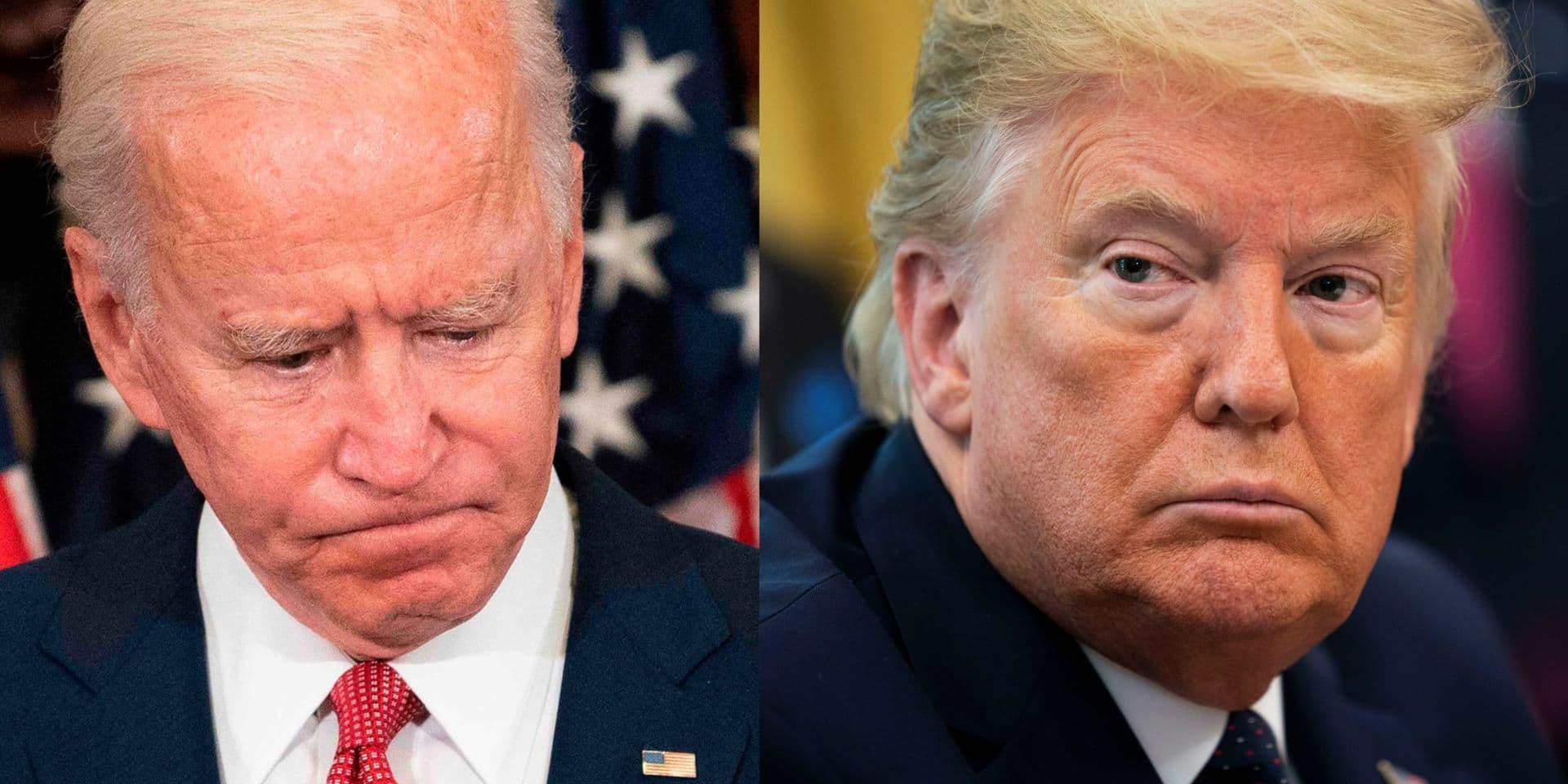 """Biden déplore l'attitude de Trump: """"Il a transformé ce pays en champ de bataille"""""""