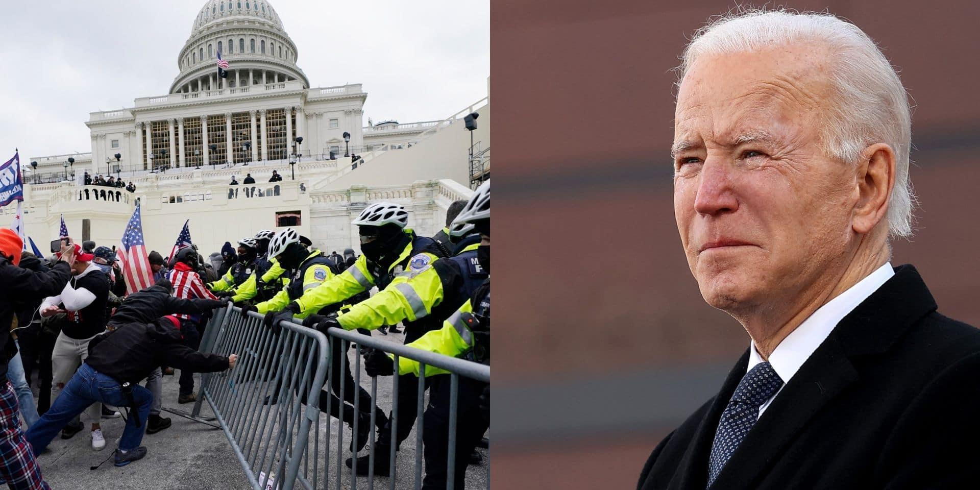 Des éléments isolés dans les forces armées pourraient-ils se retourner contre Biden ? La crainte d'une attaque monopolise les médias américains