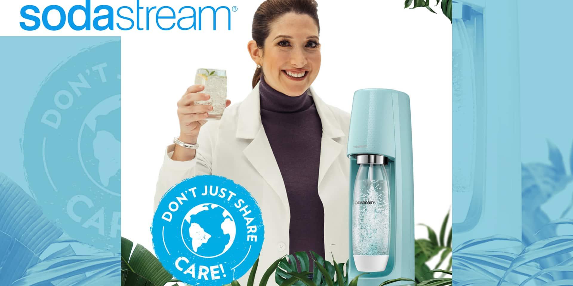 Concours : remportez une Sodastream Spirit à l'occasion de la journée de la Terre