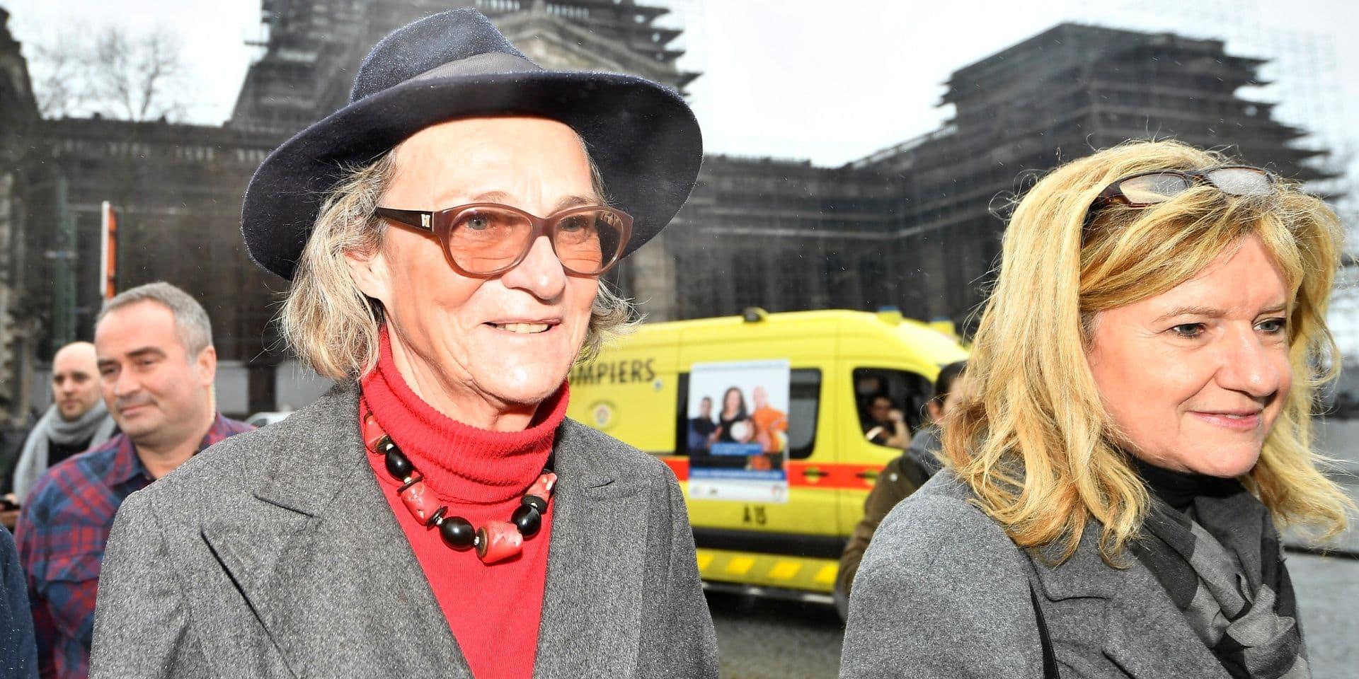 La mère de Delphine Boël s'exprime pour la première fois depuis l'annonce d'Albert II