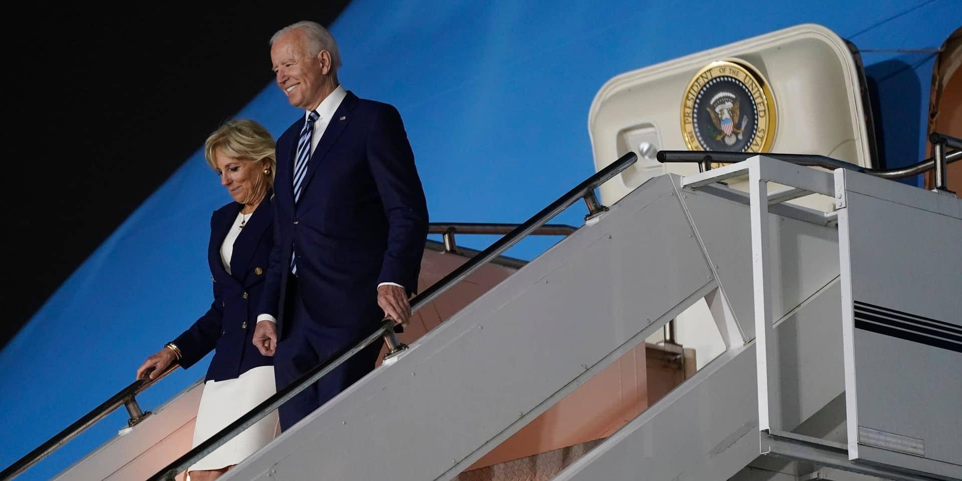 Joe Biden arrive dimanche soir en Belgique : voici son programme