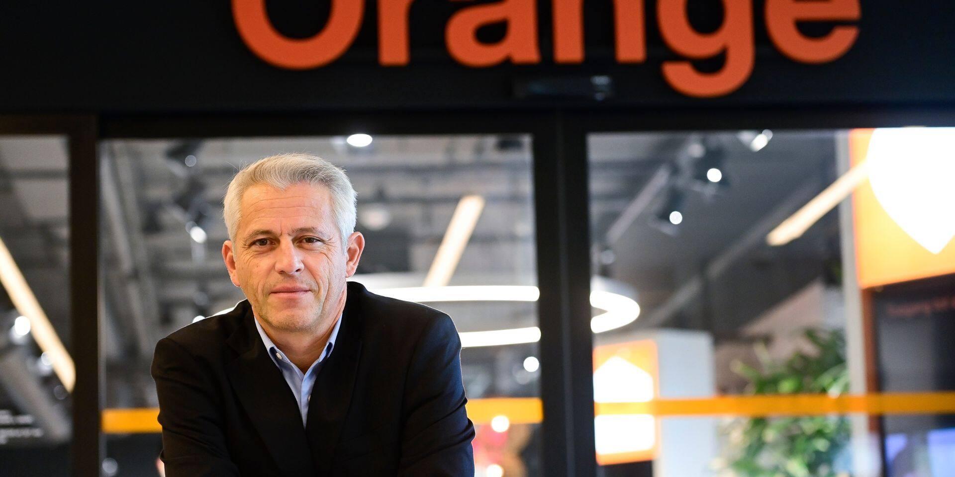 Xavier Pichon, CEO d'Orange Belgium depuis septembre 2020.
