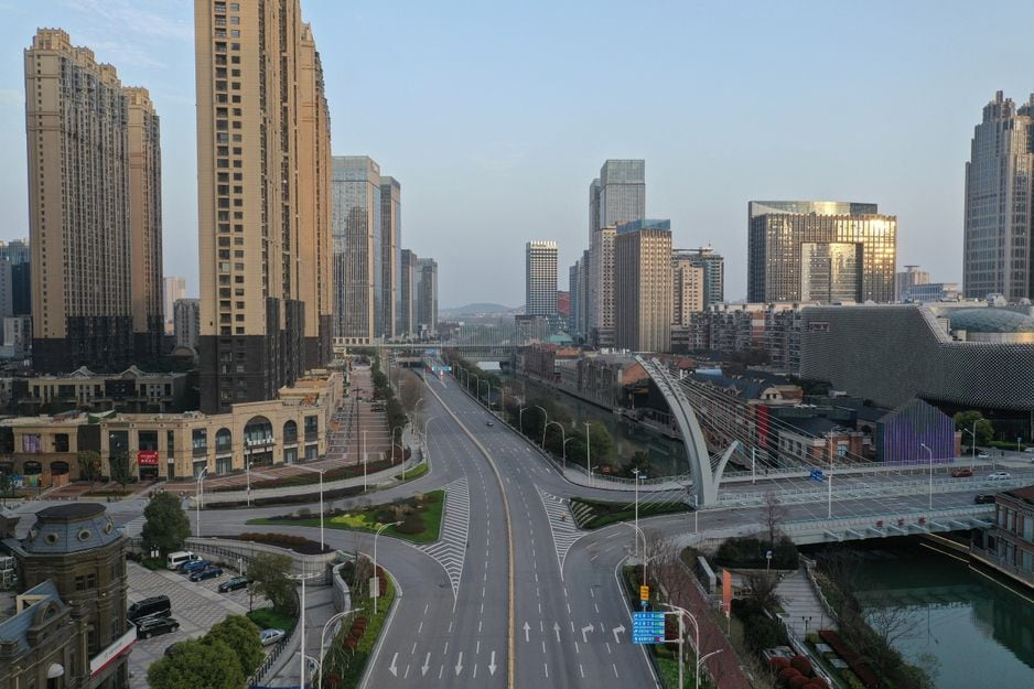 Wuhan, Chine