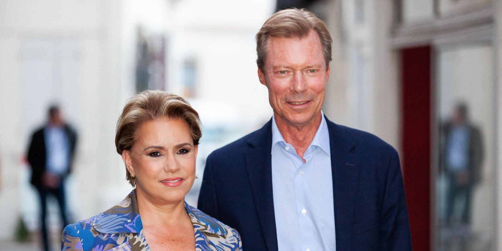 Maria Teresa de Luxembourg fête ses 65 ans et apparaît avec Charles pour la première fois