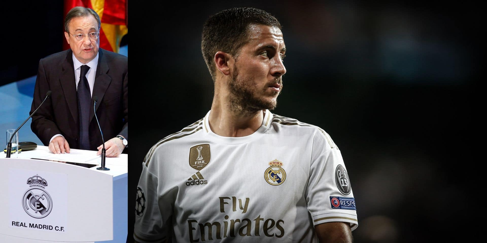 Florentino Pérez, l'homme qui a convaincu Eden Hazard d'éviter une opération