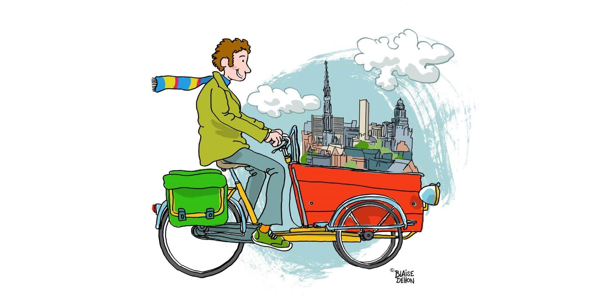 """La """"révolution vélo"""" : une opportunité à saisir pour Bruxelles"""