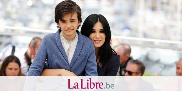 Zain Alrafeea and director Nadine Labaki attending the 'Capharnaum' Photocall during the 71st annual Cannes Film Festival at Palais des Festivals on May 18, 2018 in Cannes, France. Photo by David Boyer/ABACAPRESS.COM Reporters / Abaca
