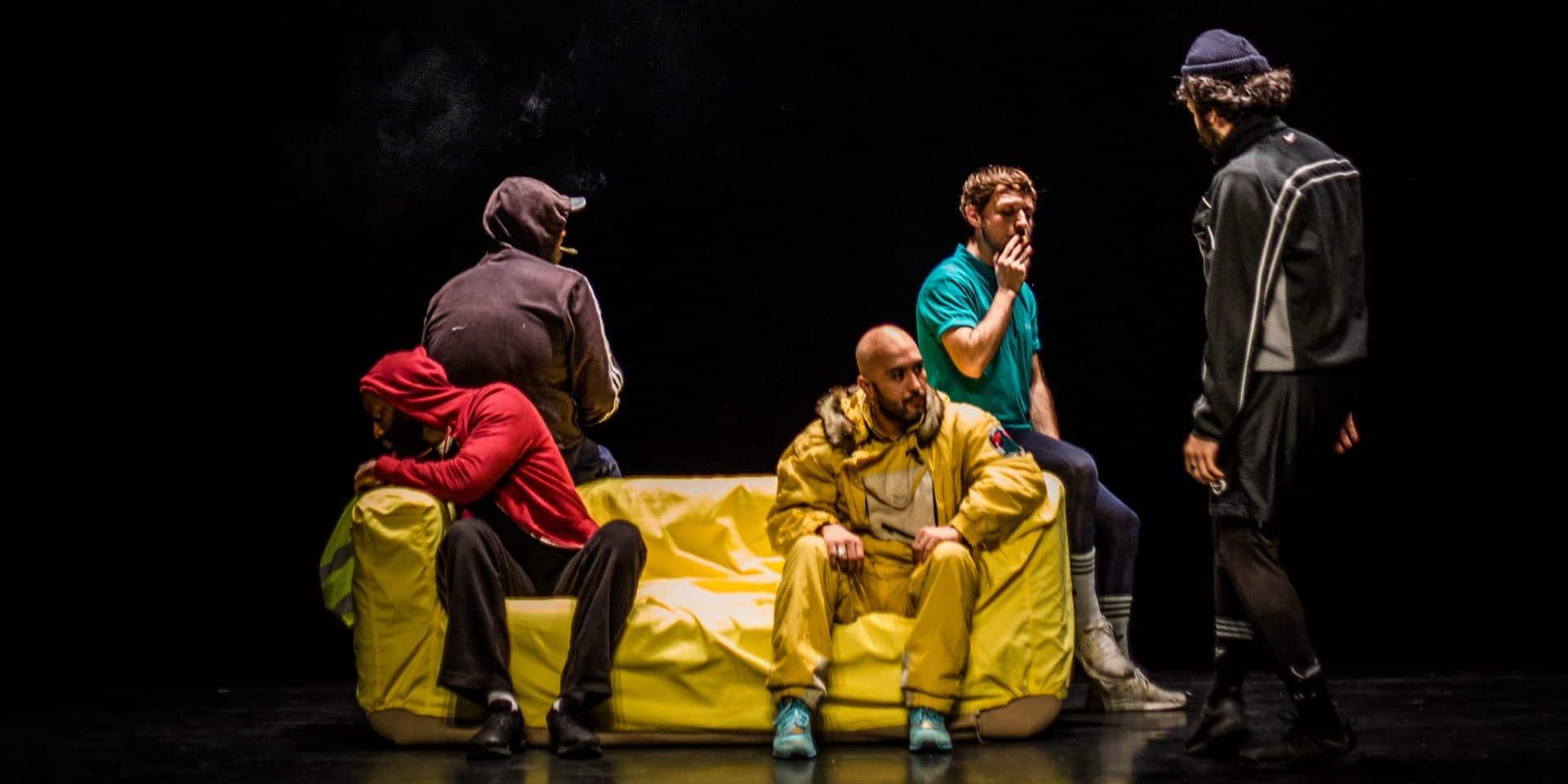 """Ouragan"", une pièce intime qui dénonce la violence normative"
