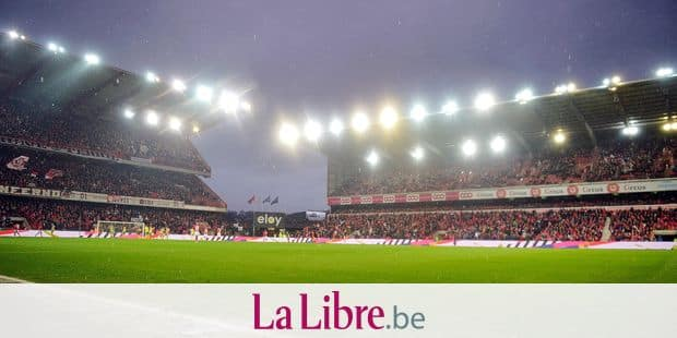 Illustration picture shows the Sclessin stadium during a soccer game between Standard de Liege and Waasland Beveren, Sunday 17 March 2019 in Liege, on the 30th day of the 'Jupiler Pro League' Belgian soccer championship season 2018-2019. BELGA PHOTO YORICK JANSENS
